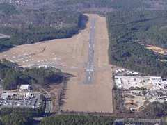 Aerial photo of KIGX (Horace Williams Airport)