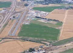 Aerial photo of U01 (American Falls Airport)
