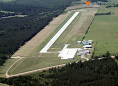 Aerial photo of KDKR (Houston County Airport)