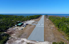 Aerial photo of F47 (St George Island Airport)