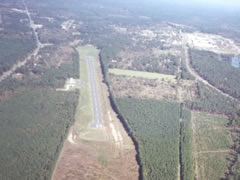 Aerial photo of T24 (Pineland Municipal Airport)