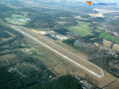 Aerial photo of KJFX (Walker County Airport-Bevill Field)