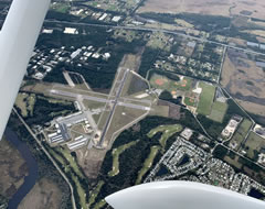 Aerial photo of KOMN (Ormond Beach Municipal Airport)