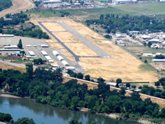 Aerial photo of O52 (Sutter County Airport)