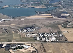 Aerial photo of KFNL (Northern Colorado Regional Airport)