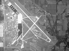 Aerial photo of KFOE (Topeka Regional Airport)