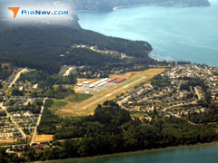 Aerial photo of 74S (Anacortes Airport)