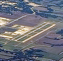 Aerial photo of KTKI (McKinney National Airport)