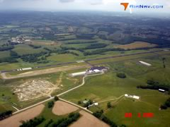 Aerial photo of KFGX (Fleming-Mason Airport)
