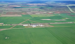 Aerial photo of F01 (Quanah Municipal Airport)