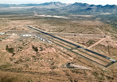 Aerial photo of KSAD (Safford Regional Airport)