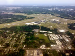 Aerial photo of KILM (Wilmington International Airport)