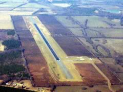 Aerial photo of A08 (Vaiden Field Airport)