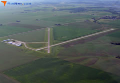 Aerial photo of KAWG (Washington Municipal Airport)