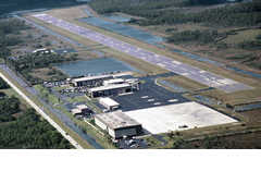 Aerial photo of 06FA (William P Gwinn Airport)