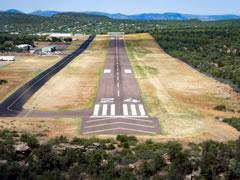 Aerial photo of KPAN (Payson Airport)