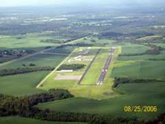 Aerial photo of 2R5 (St Elmo Airport)