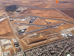 Aerial photo of KTCY (Tracy Municipal Airport)