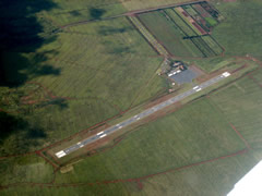 Aerial photo of PHNY (Lanai Airport)