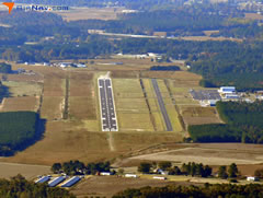 Aerial photo of KGWW (Wayne Executive Jetport Airport)