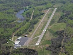 Aerial photo of I18 (Jackson County Airport)