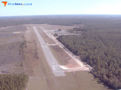Aerial photo of KBHC (Baxley Municipal Airport)