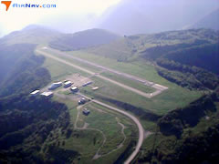 Aerial photo of 6L4 (Logan County Airport)