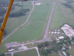 Aerial photo of 0A4 (Johnson City Airport)