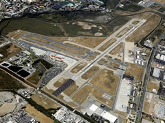 Aerial photo of KSBA (Santa Barbara Municipal Airport)