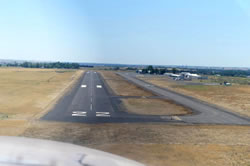 Aerial photo of KHRI (Hermiston Municipal Airport)
