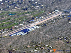 Aerial photo of 18AZ (Sky Ranch at Carefree)
