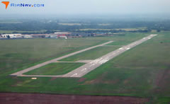 Aerial photo of KBBD (Curtis Field Airport)
