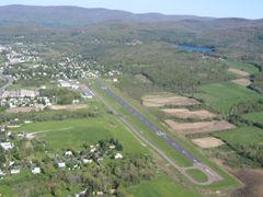 Aerial photo of KAQW (Harriman-and-West Airport)