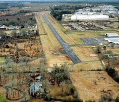 Aerial photo of 01M (Tishomingo County Airport)