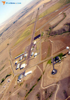 Aerial photo of KGGW (Wokal Field/Glasgow-Valley County Airport)