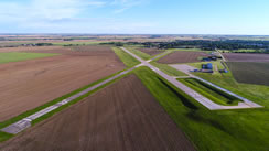 Aerial photo of K82 (Smith Center Municipal Airport)