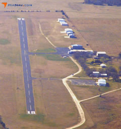 Aerial photo of 1F4 (Madill Municipal Airport)