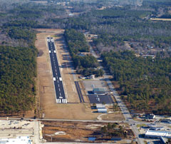 Aerial photo of 60J (Odell Williamson Municipal Airport)
