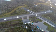 Aerial photo of PACD (Cold Bay Airport)