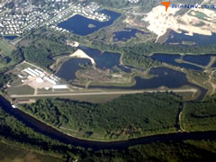 Aerial photo of 08C (Riverview Airport)
