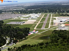 Aerial photo of KIWS (West Houston Airport)