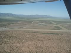 Aerial photo of KVHN (Culberson County Airport)