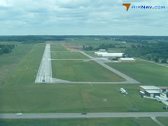 Aerial photo of C62 (Kendallville Municipal Airport)