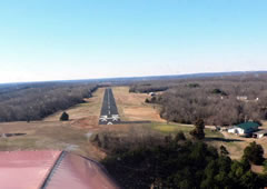 Aerial photo of MO1 (Richland Municipal Airport)