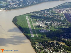 Aerial photo of KDWU (Ashland Regional Airport)