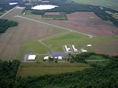 Aerial photo of Y50 (Wautoma Municipal Airport)