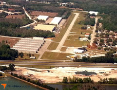 Aerial photo of X39 (Tampa North Aero Park)