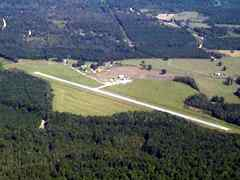 Aerial photo of M23 (James H Easom Field Airport)