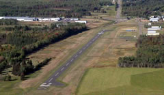 Aerial photo of 5N2 (Prentice Airport)