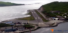 Aerial photo of PADU (Unalaska Airport)